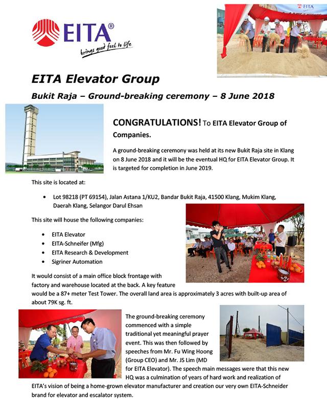 EEM - Bukit Raja Ground-breaking 08-06-2018-1