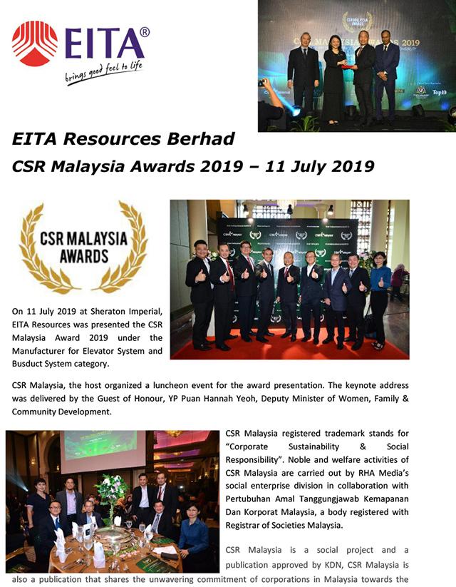 CSR Malaysia Awards - 11 July 2019-1