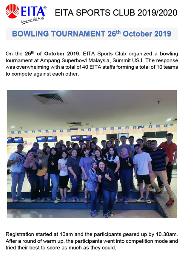 Bowling Tournament 26 October 2019-1