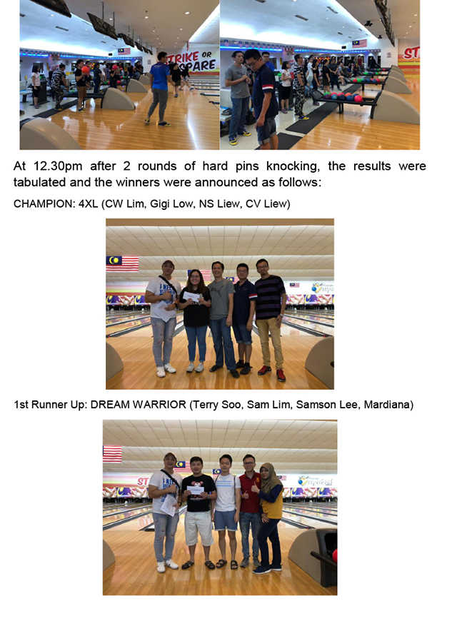 Bowling Tournament 26 October 2019-2