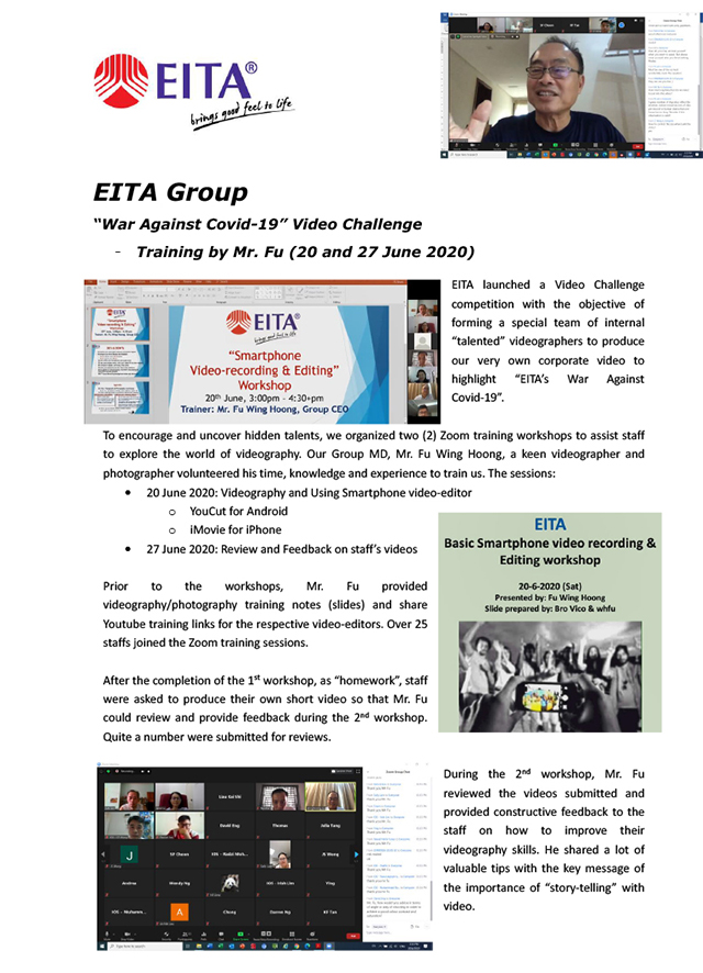 EITA - Video Training by Mr. Fu - June 2020-1